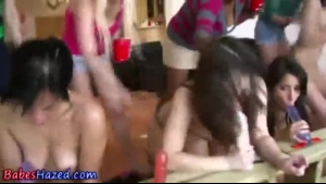 College Lesbians Toying On The Floor And Kissing Each Others Wet Pussies