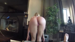 Petite Blonde Teen Was Masturbating When Her Boyfriend Came To Be With Her, Enjoying It