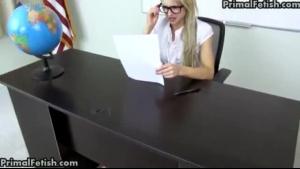 Britney Lynx Sucking A Black Dick
