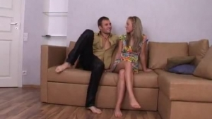 Seductive Blonde Is Having Anal Sex With Her Ex, To Make Him Happy Every Single Day