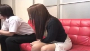Japanese Sub Gets Toyed Without Her Parents
