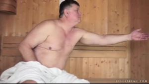 Linda Beretta Is Wearing Black Corset While Rubbing Her Pussy During An Interesting Workshop With An Assistant