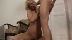 Sexy Mature Dude Is Fucking Huge Cock