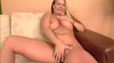 Blonde Babe With Hairy Pussy Is Getting Fucked Hard, While Her Partner Is Enjoying A Bit
