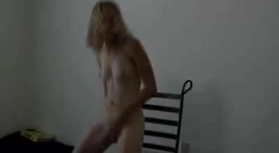 Slim, Amateur, Japanese Blonde, Miyuki Is Screaming From Pleasure While Getting Fucked From The Back