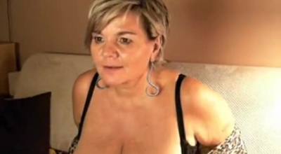 Short Haired German Blonde Babe Gave A Blowjob To Her Neighbor And Then Did Her Best To Fuck Him