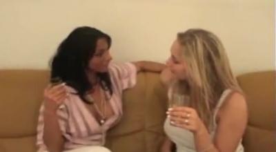 Blonde Amateur Brunette, Ruben Vega Likes When Her Best Friend's Boyfriend Is Licking Her Hairy Slit