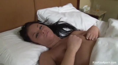 Amy Farraf Is A Slim Masseuse Who Likes To Suck Her Own Client's Dick Instead Of Doing Her Job