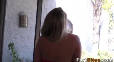 Busty Blonde Skank Fucked By Lucky