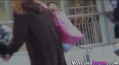 Japanese Chick Is Using Her Tits To Seduce A Guy She Likes, While Spreading Her Legs