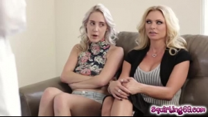 Briana Banks Needed A Good Fuck, So Her Step- Mom Came To Double Her Pleasure