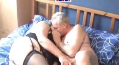 Busty UK Mature In Outrageous Show