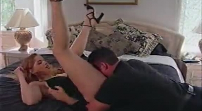 Dirty Blonde Temptress Stuffing A Sybian