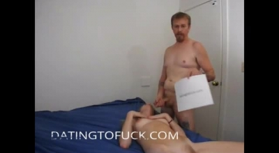 Mature Man Tortures Slut