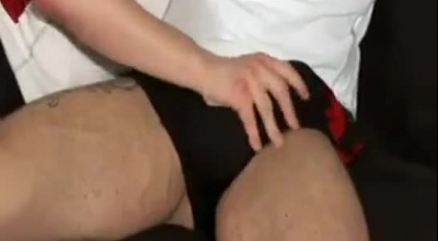 A Handsome, Bald Guy, Jesse James Is Licking His Hot Girlfriend's Ass, And Fucking Her Good