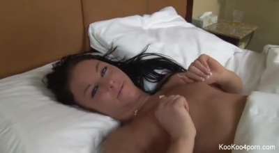 Amy Shy Is A Sweet Girl With A Nice Ass And Quick Witted To Take Her Boyfriend Home