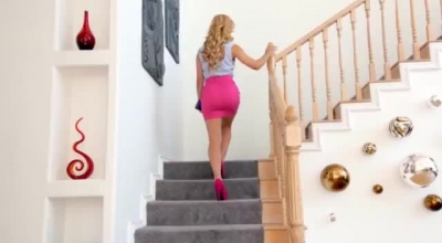 Booby Step Mom, Holly Hendrix Likes To Fuck Her Son's Handsome Step- Father, Quite Often