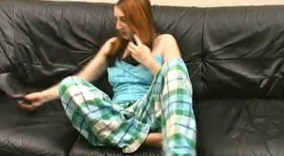 Slutty Teen Is Giving The Best Handjob And Blowjob To Her Boyfriend, In Front Of The Camera