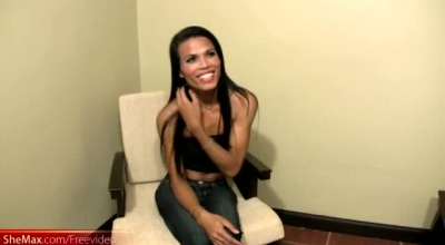 Slim Asian Brunette Is Having Interracial Sex, While Her Husband Is In His Office, All Day