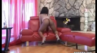 Big Ass Brunette Is Having Casual Sex With Her Ex After Giving Him Money For A Blowjob