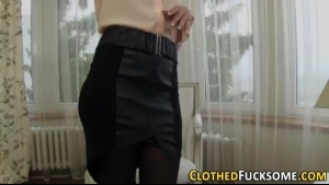 Classy Housewife Got A Handsome Businessman To Fuck Her On His Yacht, While At His Villa