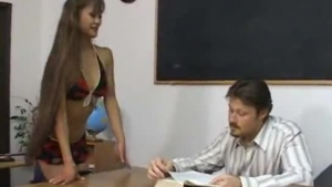 APretty Asian Woman And Manager Meet On The Sofa In A Huge Room And Know How To Fuck