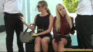 Britney Amber And Anissa Kate Are Fooling Around Filled Up With Dick, In The Late Afternoon