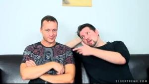 BDSM Babes With Saggy Asses Get A Facial