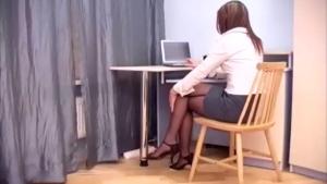Pretty Secretary Sucking And Fucking