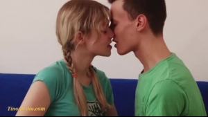 Slim, Fresh Blonde Is Playing With Her Nipples, Because It Turns On Her Boyfriend, A Lot