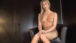 Charming Brunette With Blue Eyes, Lea Lexus Is Sucking A Big, Black Cock And Getting It From The Back