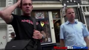 Real Dutch Hooker Sucking Client