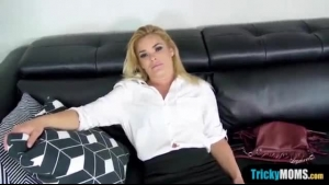 Classy Blonde Bitch With Big Boobs, Juelz Ventura Got Cum All Over Her Huge, Firm Tits
