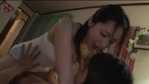 Japanese Teen Is Getting Fucked From The Back By Two Handsome Guys At The Same Time