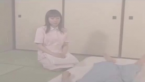 Horny Asian Masseuse Cocksucking Her Client