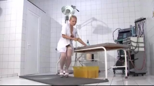 Sexy Nurse Takes Care Of A Patient