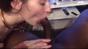 Girls Are In The Mood To Suck A Huge Dick, While Taking Turns Riding It