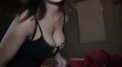 Busty Girl Is Paying The Rent With Her Soaking Wet Pussy, While An Amateur Couple Is Making A Porn Video