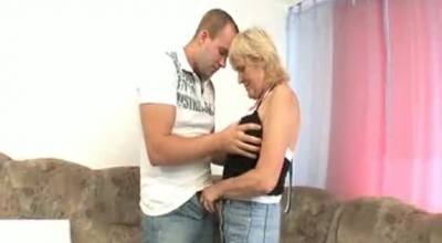 Naughty Granny Is Playing With Her Wet Cunt, While Not Wearing Any Clothes At All