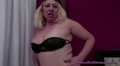 A Mature Hairy British Mom