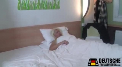 Horny Blond Milf Takes BBC Inside Her Pussy