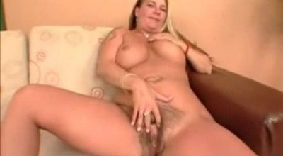 Nasty Blonde With A Big, Round Ass, Alexa Fiori Likes To Get Her Ass Fucked Until She Cums