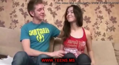 Sweet Teen Is Going To Her First Porn Casting And She Would Not Stop Moaning From Pleasure