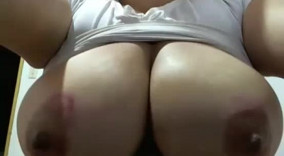 Big Tited Milf Is Bouncing Up And Down While Her Partner's Dick Is In Deep, Her Throat