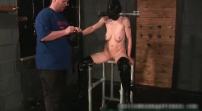 Majestic Babe Bound And Fucked