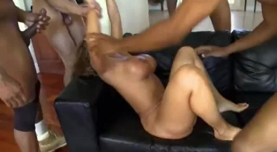 Mature Redhead Takes A Big Cock Inside Her Pussy