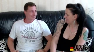 Mature German Wife Takes Off Her Panties