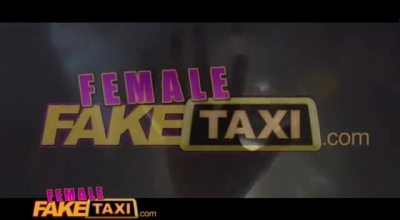 Blonde Taxi Driver Lesbian Fuck With Passenger
