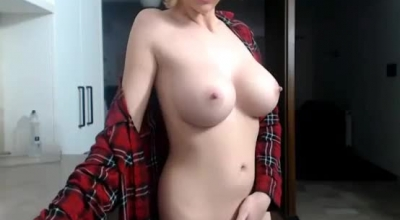 Busty Blonde Slut, Daya Knight Is Working As A Model, Because She Likes Fucking For Money