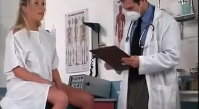 Busty Blonde Patient Fucked By Kinky Doctor